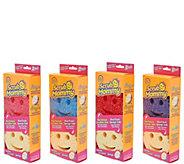 Scrub Mommy Set of (8) Double-sided Multi Color Sponge Set - V35347
