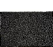 Aqua Hog 2 x 3 Floral Indoor/Outdoor Door Mat with Rubber Backing - V35547