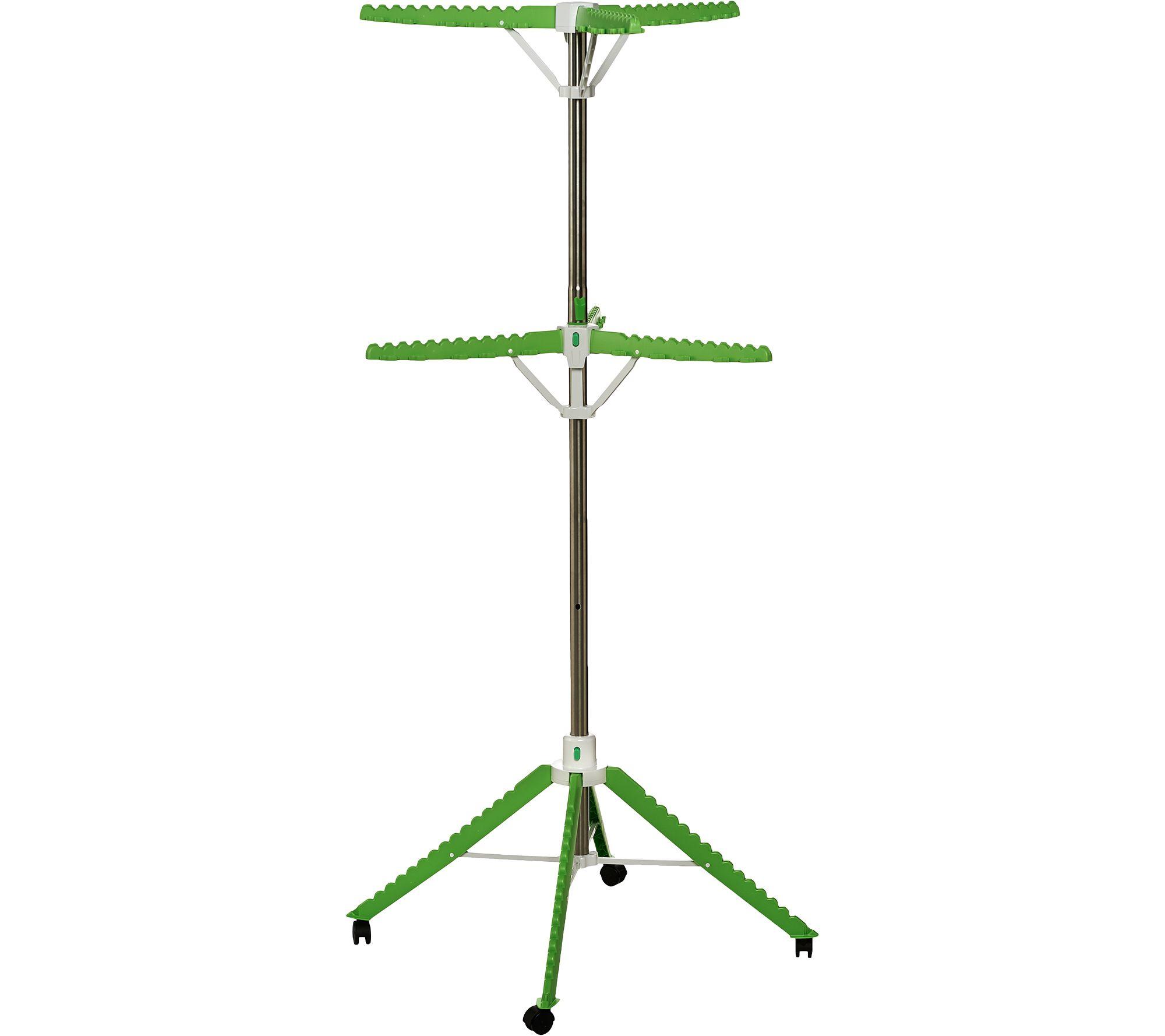 The Green Tree Foldable Heavy Duty Drying U0026 Storage Rack   Page 1 U2014 QVC.com