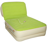 Air Cloud Inflatable Twin Airbed with Inclining Backrest - V34748