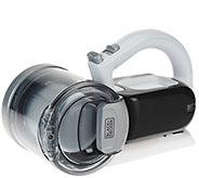 Black & Decker 18V Compact Pivot Hand Vacuum w/ Charging Base - V34150