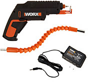 WORX 4V Lithium-Ion Screw Driver w/ Screw Holder & Flex Extender - V34850