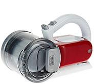 Black & Decker 18V Compact Pivot Hand Vacuum w/ Charging Base - V33751