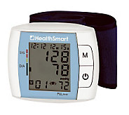 HealthSmart Auto Wrist BP Monitor w/ 120-Reading Memory - V118352