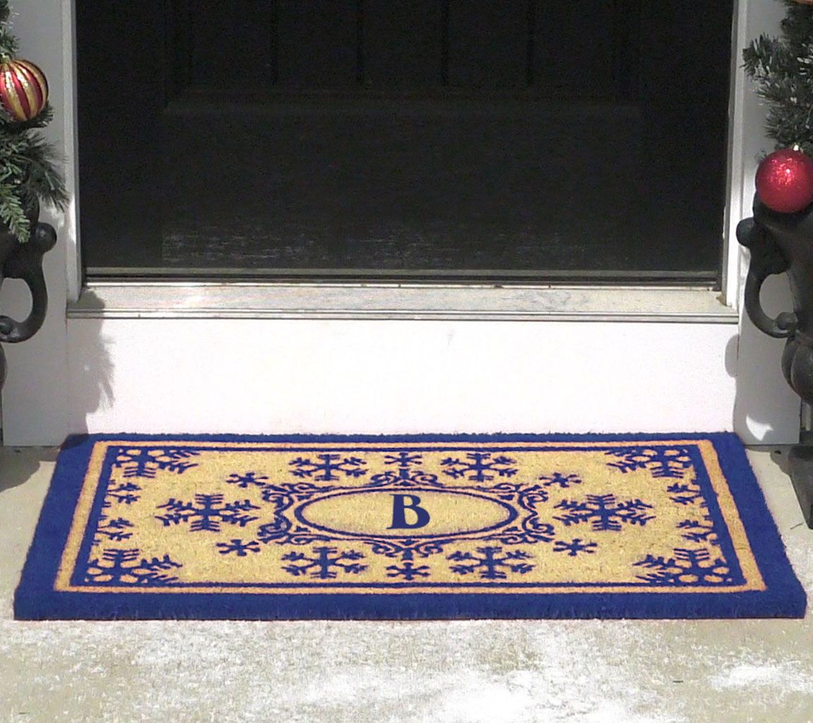 designer snowflake my holiday products rug nordic