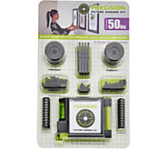 Precision Picture Hanging/Wall Decor Kit for 12 Pictures - V34253