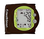 HealthSmart Sport Auto Wrist BP Monitor w/120-Reading Memory - V118354