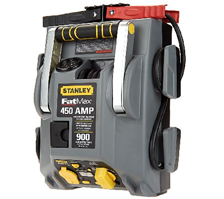 how to use jump starter stanley