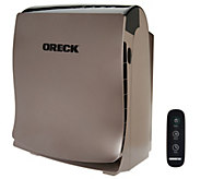 Oreck Airvantage Plus HEPA Air Purifier w/VOC Filter & Remote - V33955