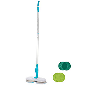Hover Scrubber Cordless Mop w/ 6 AssortedCleaning Pads