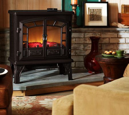 Duraflame Large Electric Stove Heater with Timer and Remote - Page ...