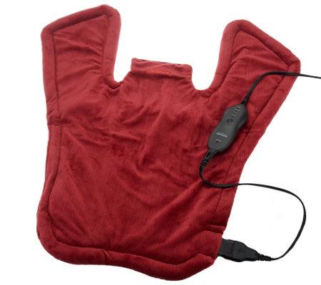 Sunbeam X Long Renue Upper Back Neck Amp Shoulder Heating