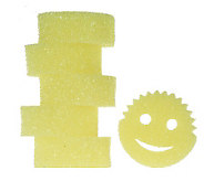 Scrub Daddy Set of 6 Flex Texture Scratch Free CleaningSponges - V31658