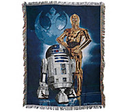Star Wars Triple Woven Tapestry Blanket - V33858