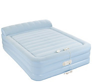 Aerobed Queen Size 18 Elevated Bed with Headrest & Built-in Pump - V34458