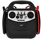 SecureAuto 600 Peak Amp Jump Starter w/ Air Compressor - V33659