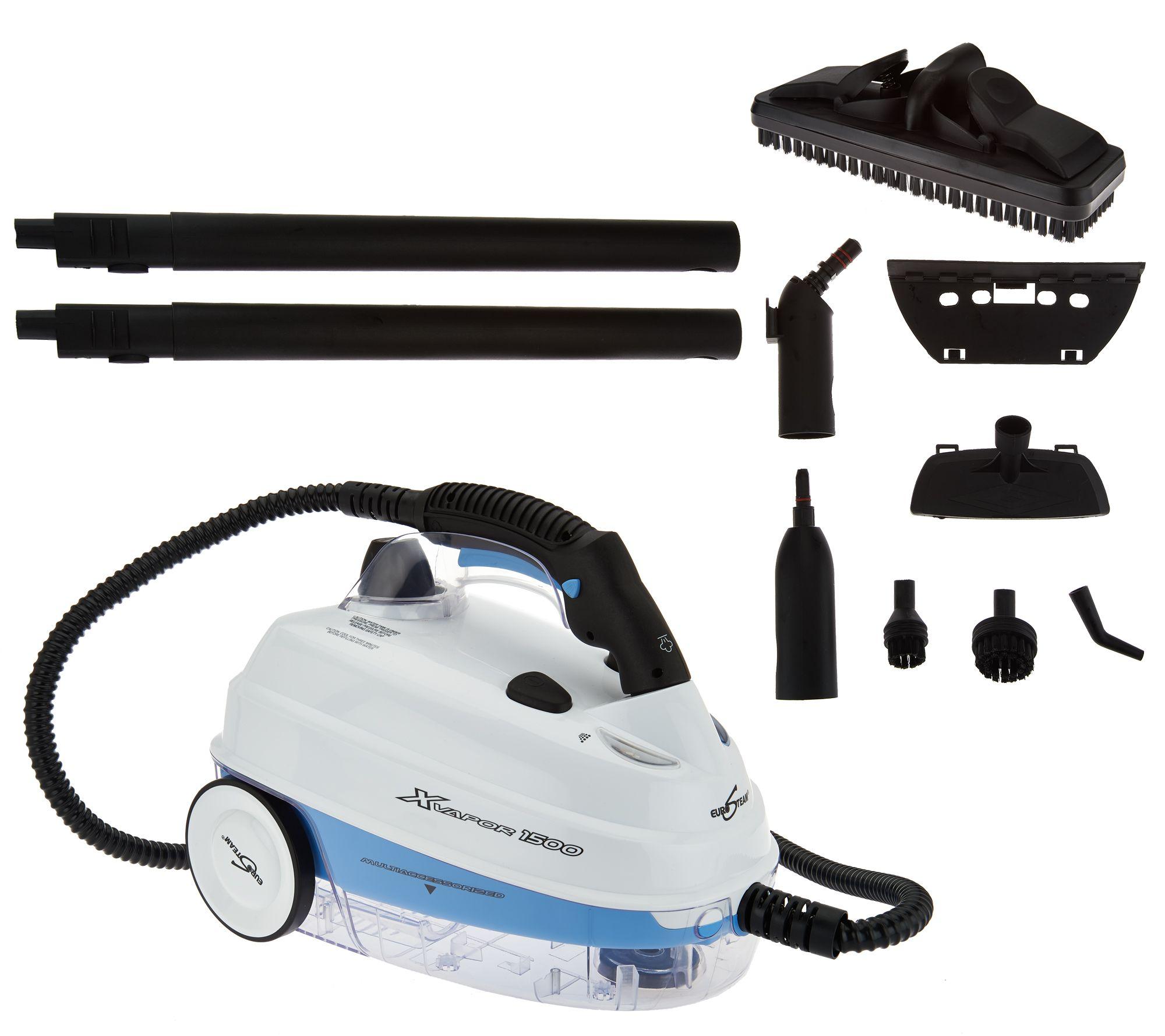 Eurosteam 1500 Watt Maximum Multi Steam Cleaner & Tools Page 1