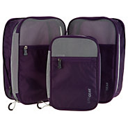 Lite Gear Set of 3 Carry-On Travel Kompression Kubes - V35259