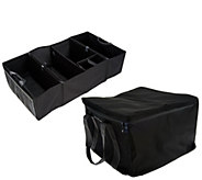 8 Way Folding Trunk Organizer w/ Thermal Carrier and Bottle Holder - V33260