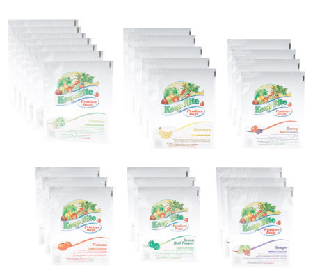 Set of 25 Keep Rite Reusable Produce Storage Bags