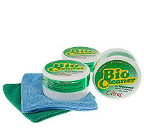 Bio Cleaner Supersize Set of 3 Multi-Purpose Cleaning Clay - V33262