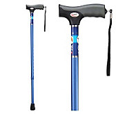 Carex Soft Grip Cane-Blue - V118064