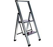 Ultimate Innovations Lightweight Folding 2-Step Ladder - V33964