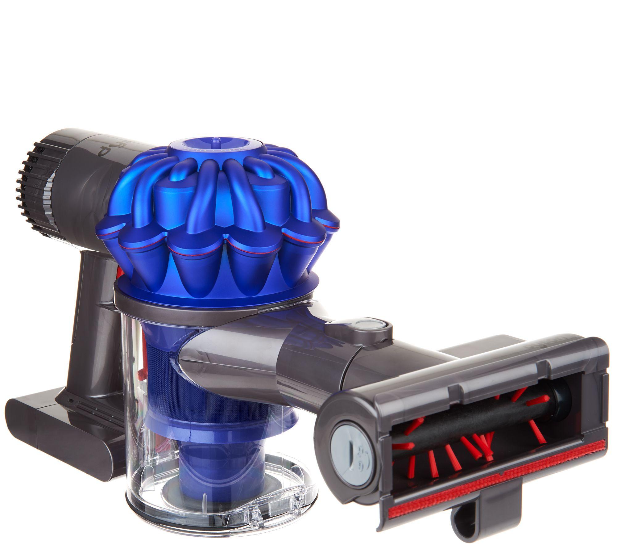 dyson v6 trigger animal handheld vacuum with 3 tool attachments page 1 u2014 qvccom - Dyson Handheld Vacuum