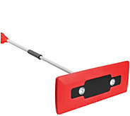 Snow Joe Telescoping Snowbroom & Ice Scraper w/ 4 LED Lights - V33667