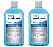 Philips Sonicare BreathRX DIS364 Mouthwash 2-Pack - V119769