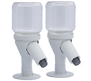 Snack Spout Set of 2 Snack Dispensers w/ 54 oz. Jars - V33169