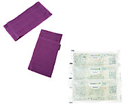 Hot or Cold Reusable Spa Neck Wrap And Eye Mask by FrozenPeaz - V32570
