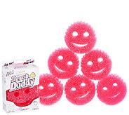 Scrub Daddy Set of 7 Pink Scratch Free Sponges - V33771