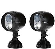 Mr. Beams S/2 NetBright Motion Sensing Wireless LED Spot Lights - V34272