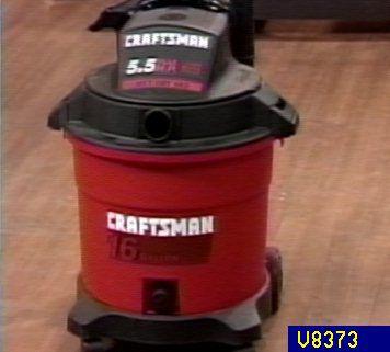 Craftsman 5 5 Hp 16 Gal Wet Dry Vac With Blower Qvc Com