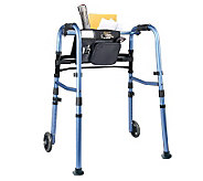 Carex Explorer Folding Walker with 5 Wheels - V118074