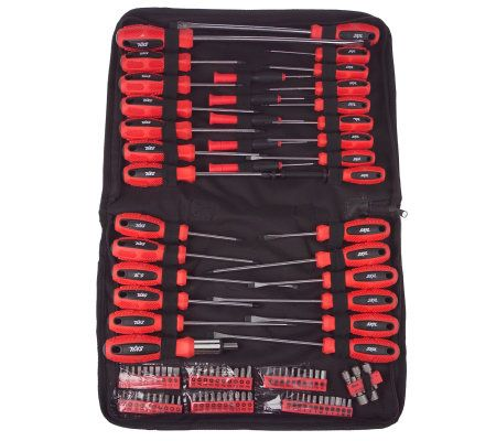 skil 100 piece screwdriver set with carrying case page 1. Black Bedroom Furniture Sets. Home Design Ideas