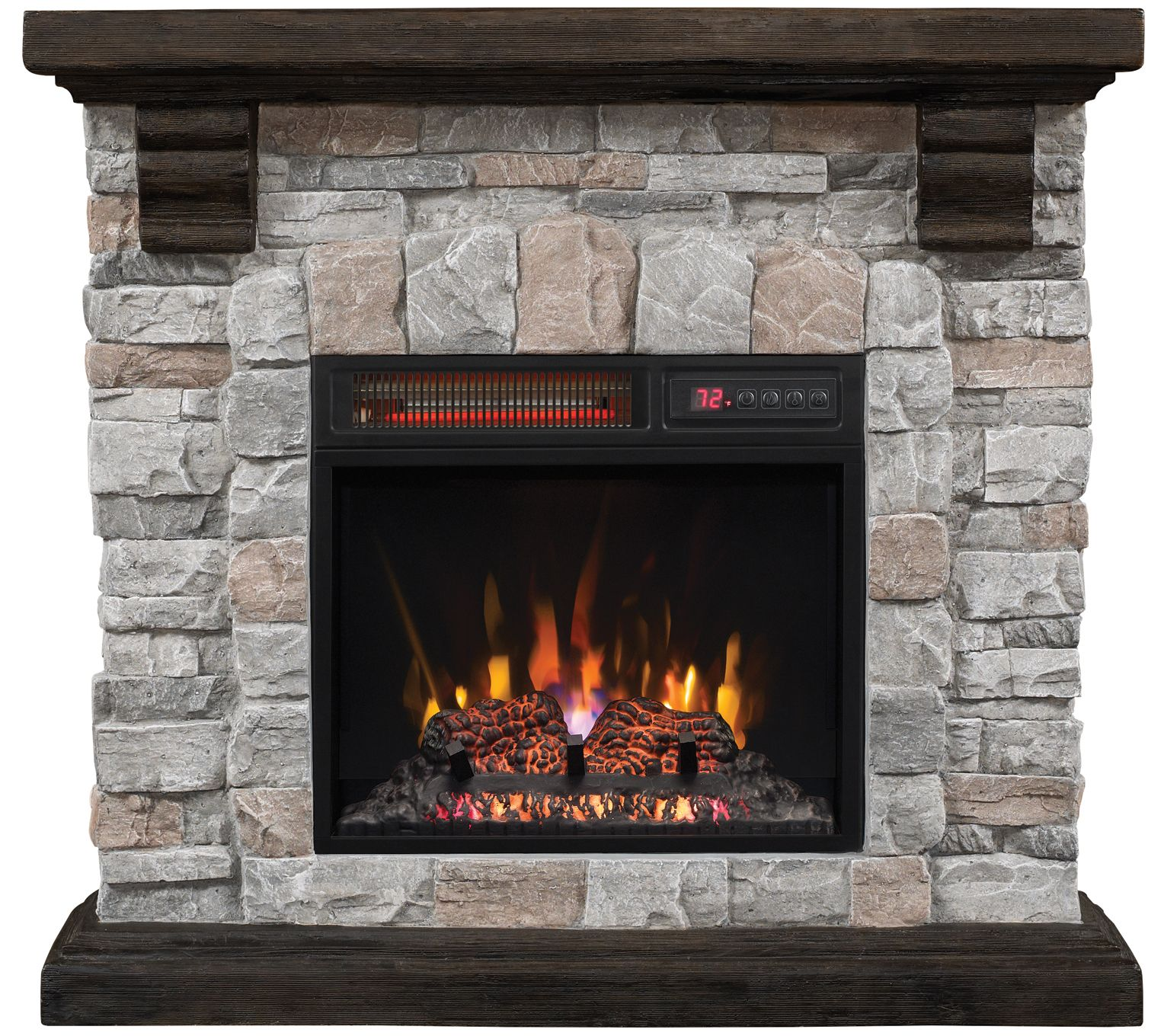 How Tall Is A Fireplace Mantel Aspen Infrared Electric