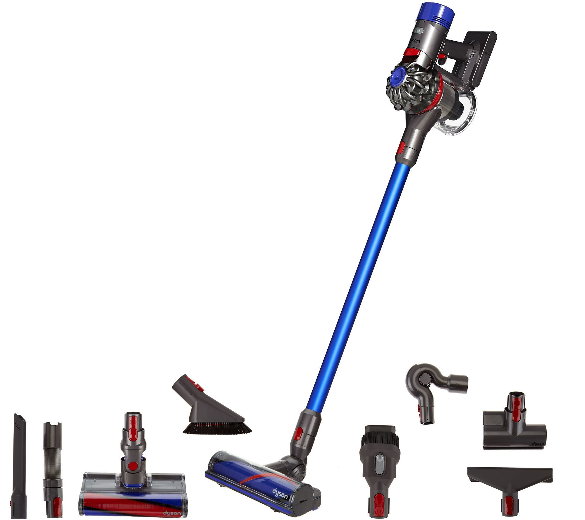 dyson v8 absolute cordless vacuum with 8 tools hepa. Black Bedroom Furniture Sets. Home Design Ideas