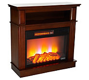 Duraflame 32 Fireplace with Wide Media Mantel - V35078