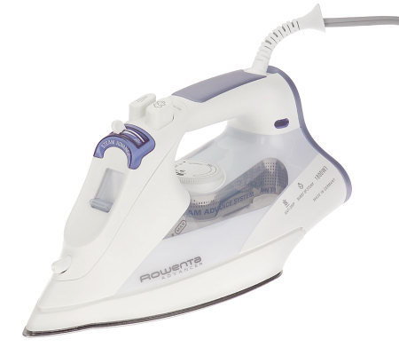 Rowenta 1800W Advancer Iron w/ Microsteam 400 Hole ...