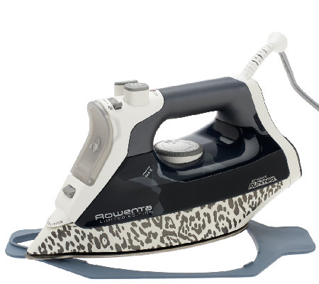 Rowenta Project Runway 1800W Steam Iron with 330 Hole ...