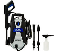 Blue Clean AR112s 1500 PSI Pressure Washer w/ Turbo Nozzle - V33779