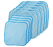 Set of 10 Puppy Fur Microfiber Towel Set by Campanelli - V35379