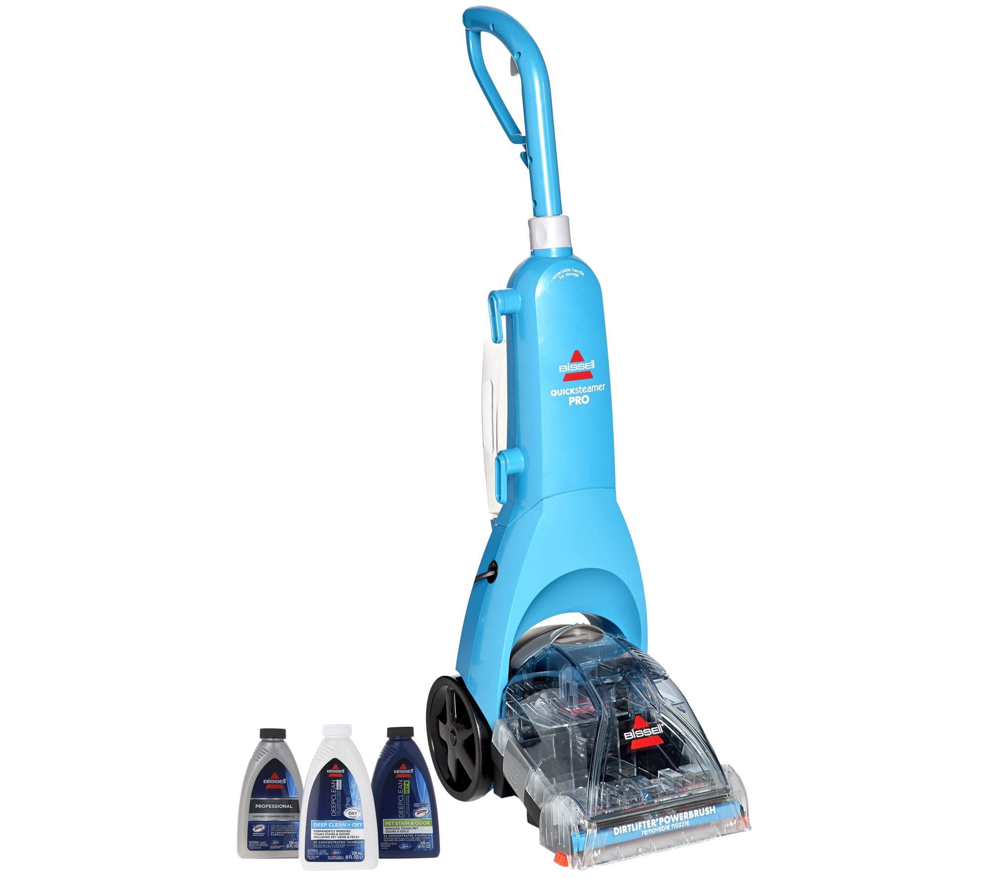 Bissell Quicksteamer Pro Deep Clean Carpet Cleaner W/ 3 Formulas   Page 1 U2014  QVC.com