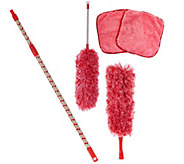 5-piece Microfiber Dusting Kit by Campanelli Products - V33885
