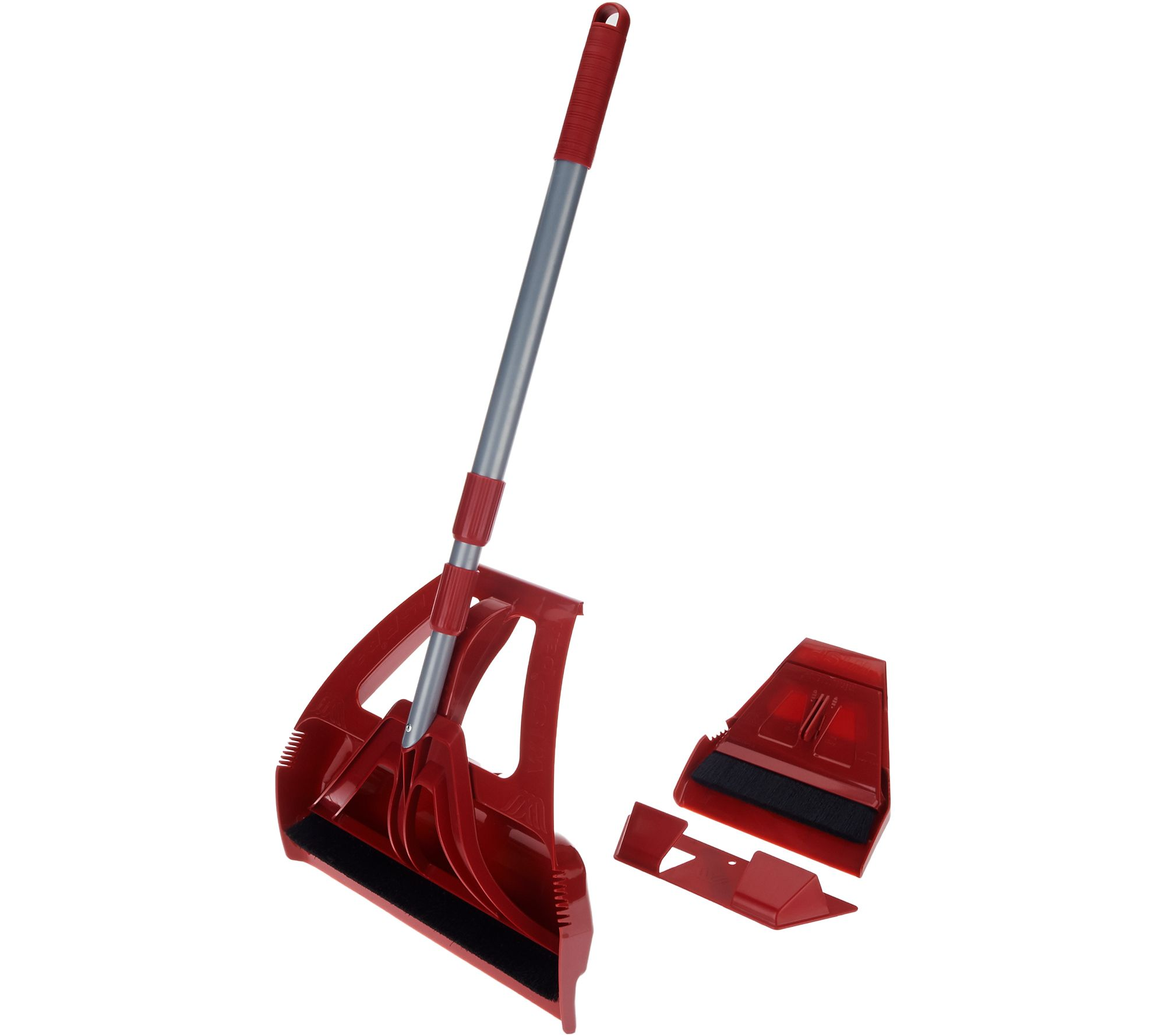 WISP 5pc. Multi-Surface Sweeper and Dustpan System w/Mini
