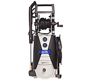 Blue Clean 2000 PSI Max Pressure Washer with Hose Reel - V34586