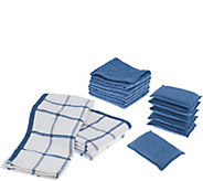 Don Asletts 15 Piece Microfiber Kitchen Clean Up Set - V33987