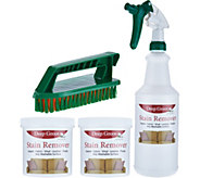 Deep Green Set of 2 Gel Concentrate Stain Remover Cleaning Kit - V34187